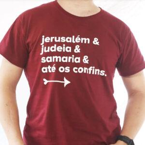 Camiseta Jerusalém ( Tradicional )