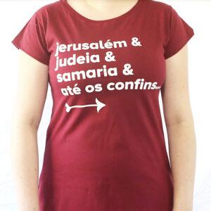 Camiseta Babylook – Jerusalém